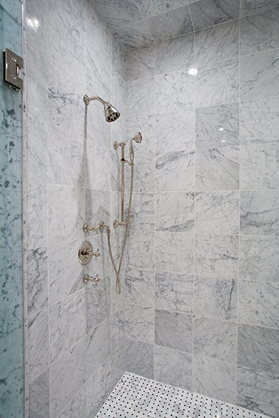 Bianco Carrara Marble Tile Houston