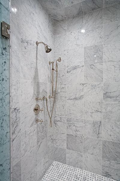 Bianco Carrara Marble Tile Houston