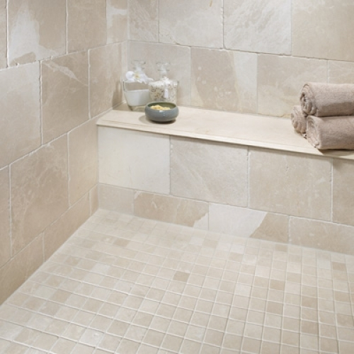 Crema Marfil Marble Tile Houston